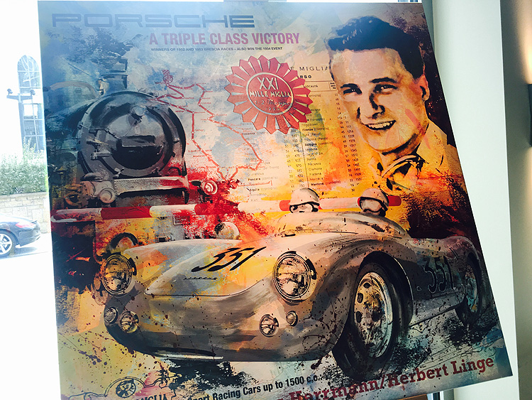 Hans Herrmann Mille Miglia 1954