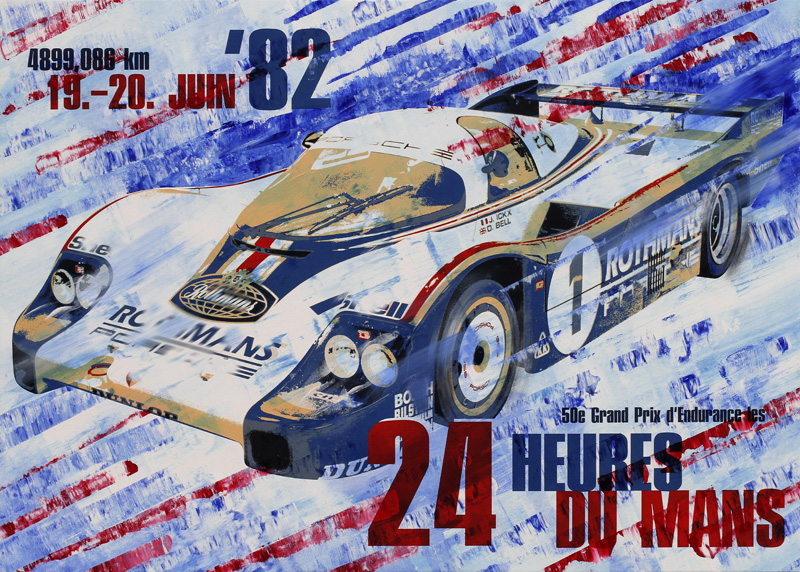 Jacky Ickx Le Mans 1982 Porsche