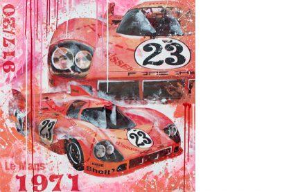 Reinhold Joest Le Mans 1971 Porsche 917 Sau