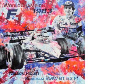 Nelson Piquet Formel 1 1983 Brabham BMW