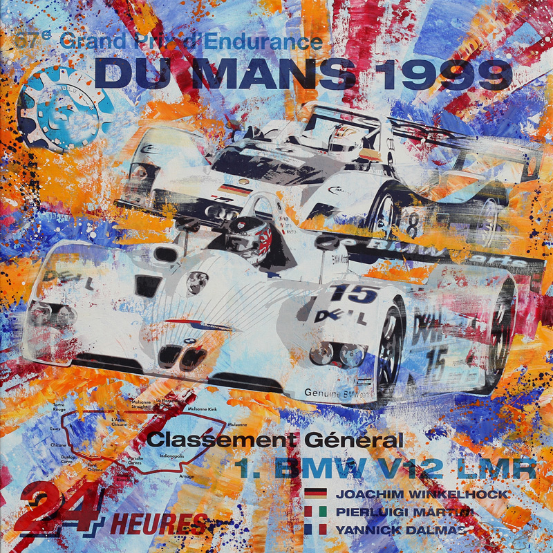 Joachim Winkelhock Le Mans 1999 BMW
