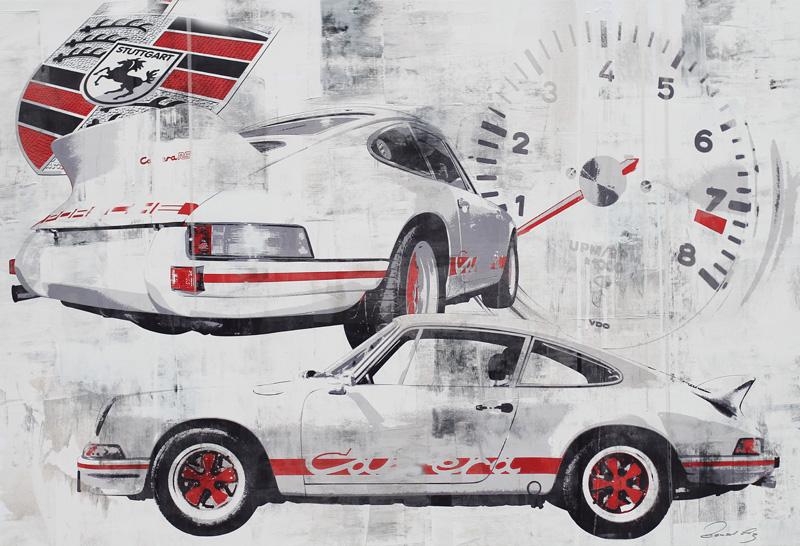 Le Mans 1975 Porsche Carrera RS