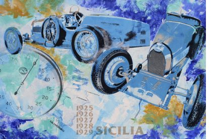 Targa Florio Sicilia 1920 Bugatti