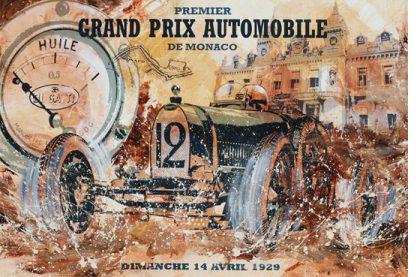 Premier Grand Prix Automobile de Monaco 1929 Bugatti T35