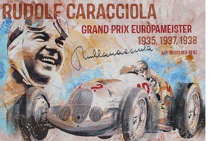 Rudolf Caracciola Grand Prix 1937 Mercedes