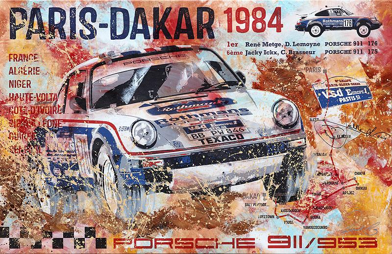 Porsche Paris-Dakar 1984 von Bernd Luz
