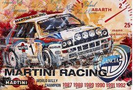 Martini Racing 1987 Lancia Delta Rallye