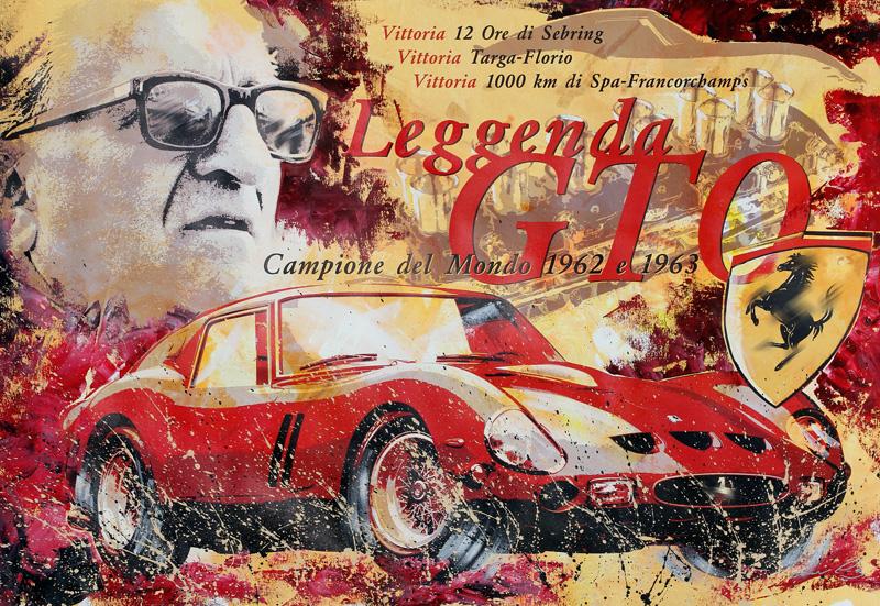 Leggenda GTO Enzo Ferrari 1962