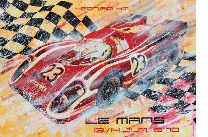 Hans Herrmann Le Mans 1970 Porsche 917