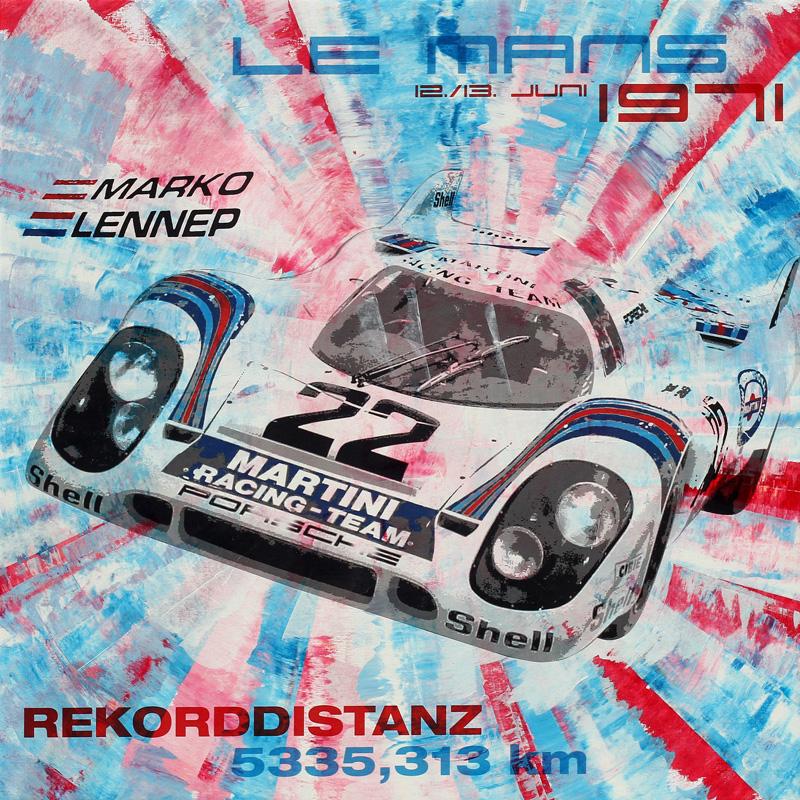 Helmut Marko Le Mans 1971 Porsche