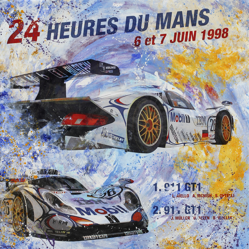 Le Mans 1998 Porsche