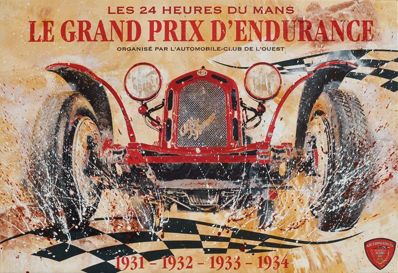 Le Mans 1930 Alfa 8C