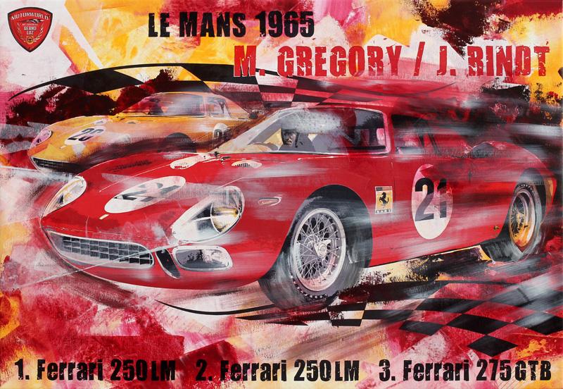 Masten Gregory Le Mans 1965 Ferrari