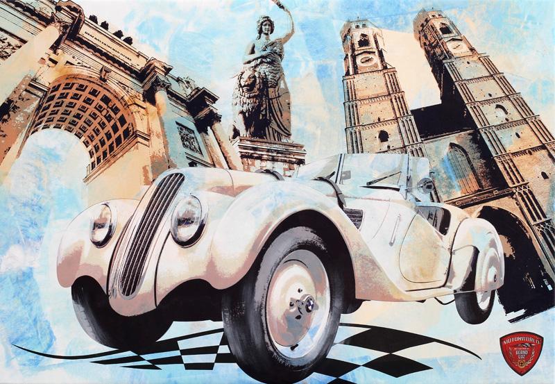 Eifelrennen 1936 BMW 328