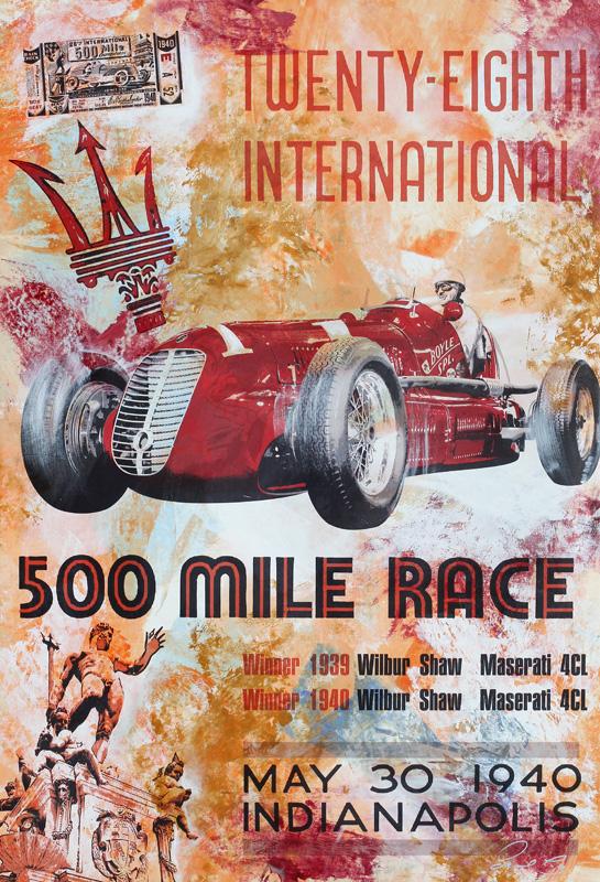 Wilbur Shaw Indianapolis 500 Maserati