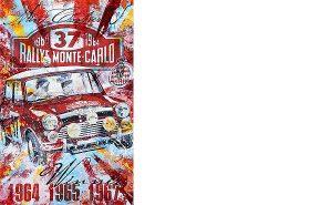 Paddy Hopkirk Rallye Monte Carlo 1964 Mini Cooper S