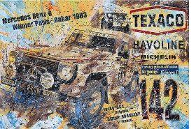 Jacky Ickx Rallye Paris-Dakar 1983 Mercedes