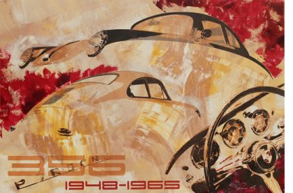 Le Mans Porsche 356 1948