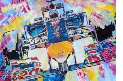 Sebastian Vettel Formel 1 Red Bull RB 10