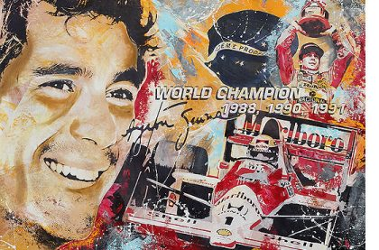 Ayrton Senna Formel 1