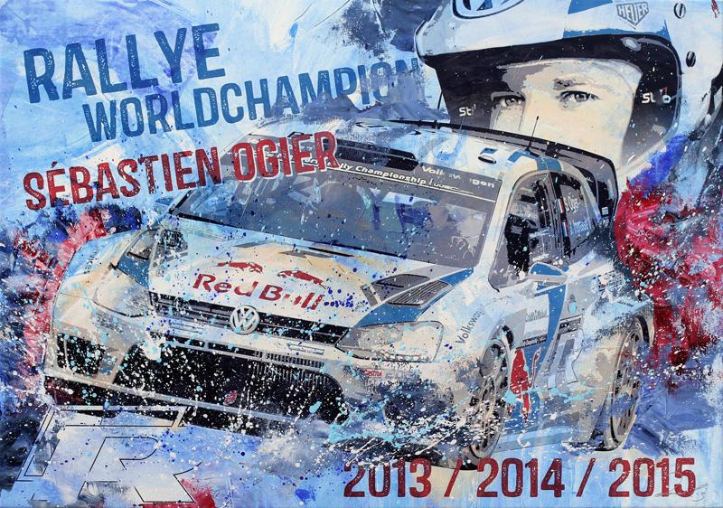 Sebastien Ogier Rallye Weltmeister VW