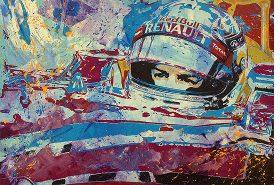 Sebastian Vettel Red Bull Concentration