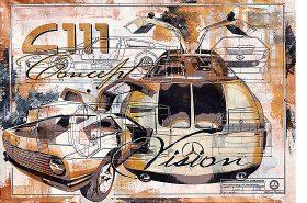 Vision C 111 Concept Car Mercedes