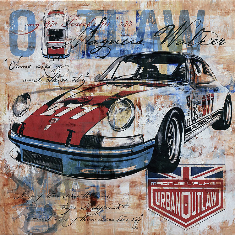 Magnus Walker Urban Outlaw Porsche