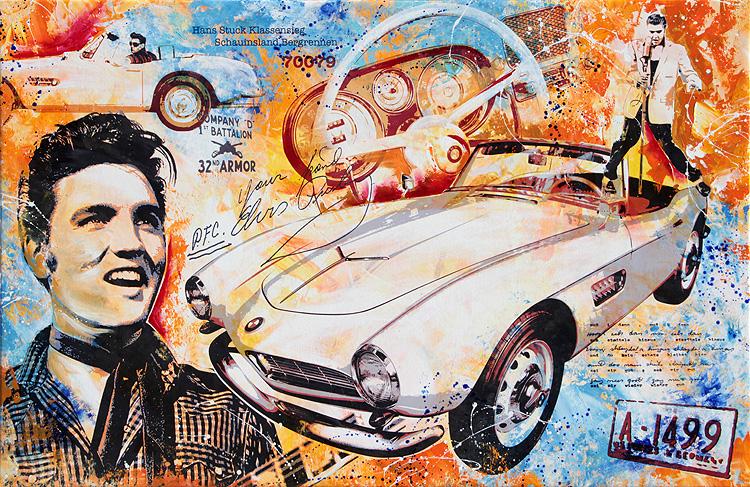 Elvis The King BMW 507