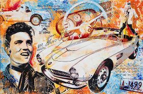 Elvis The King BMW 507
