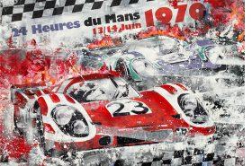 Hans Herrmann Le Mans 1970 Porsche