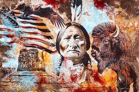 Native Sitting Bull