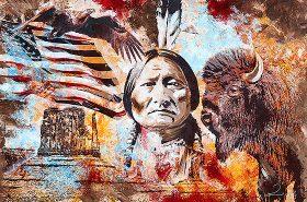 Native Sitting Bull