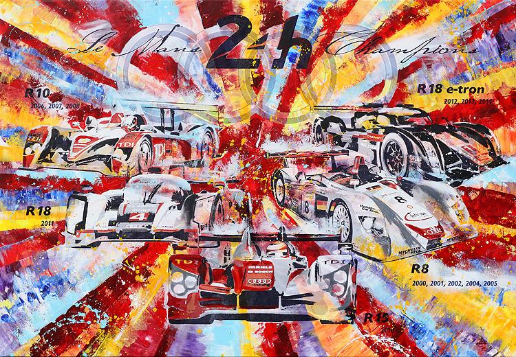 24h Le Mans Audi