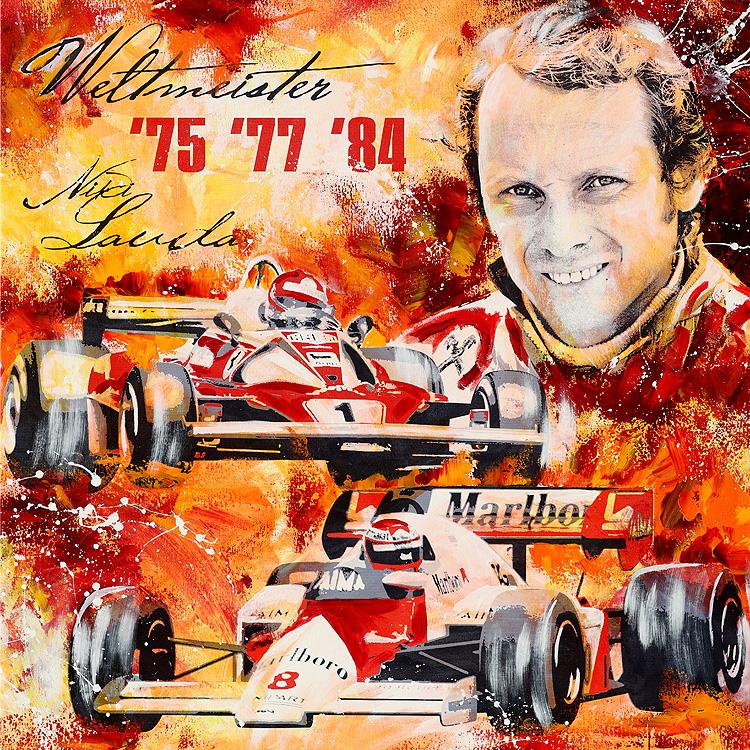 Niki Lauda Formel 1 Ferrari McLaren
