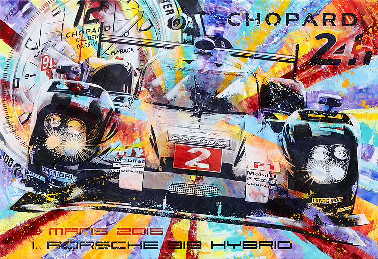24h Le Mans 2016 Chopard
