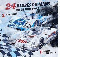 Warwick Le mans 1992 Peugeot
