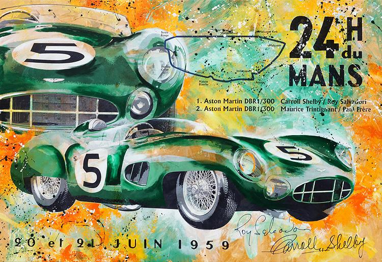 Carroll Shelby Le Mans 1959 Aston Martin