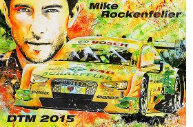 Mike Rockenfeller DTM 2015 Audi