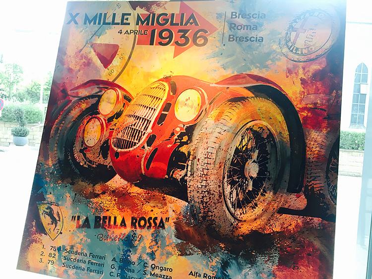Antonio Brivio Mille Miglia 1936 Alfa
