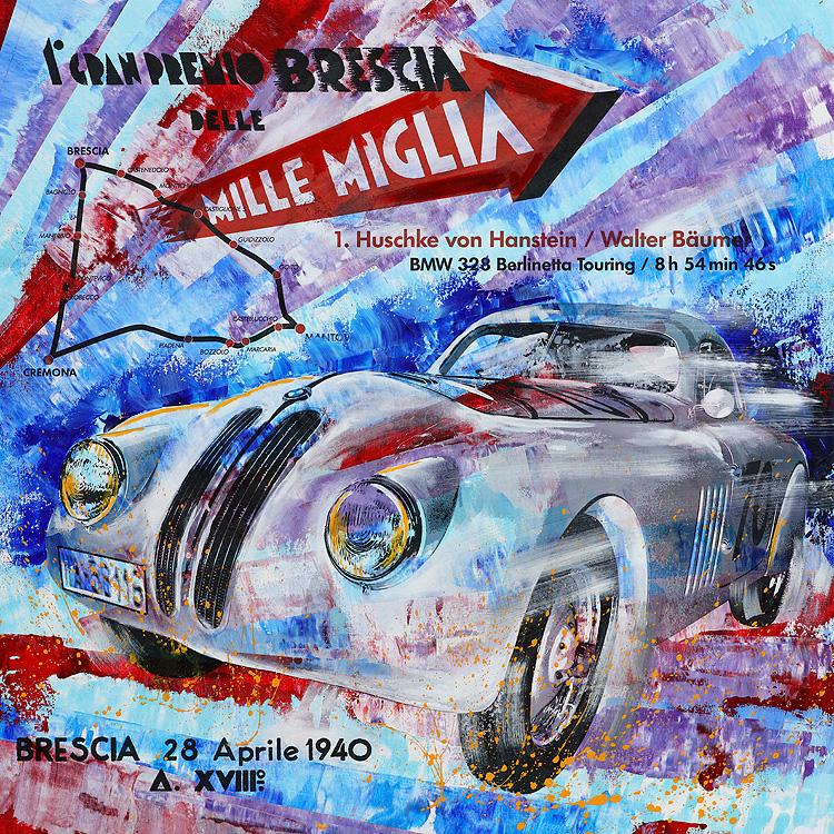Huschke von Hanstein Mille Miglia 1940 BMW