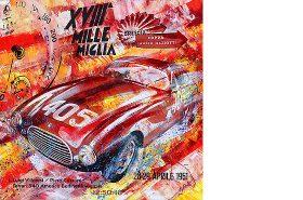 Luigi Villoresi Mille Miglia 1951 Ferrari