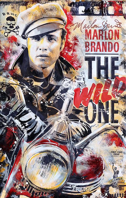 Marlon Brando The Wild One